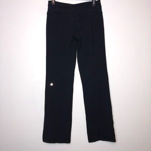 lululemon athletica Pants - Lululemon Black Astro Yoga Pants Size 8 Regular